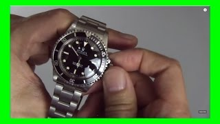 Talking The ROLEX SUBMARINER 5513 L - The End Of An Era