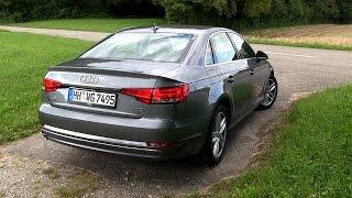getlinkyoutube.com-2016 Audi A4 2.0 TDI B9 (150 HP) TEST DRIVE