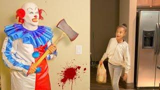 getlinkyoutube.com-KILLER CLOWN PRANK GONE WRONG!!!