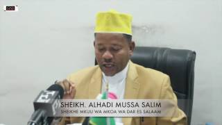 Shekhe mkuu Dar: hatukutumwa na UKAWA kuonana na rais