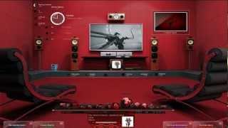 getlinkyoutube.com-Rainmeter DreamScene - Red Cinema HD