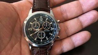 getlinkyoutube.com-$10 Yazole Fashion Quartz Brown Watch by Bestpriceam