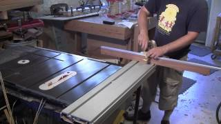 getlinkyoutube.com-The Woodpecker Ep 41 Table Saw Sliding Table Fence