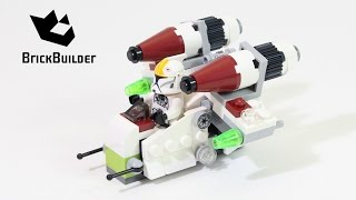 getlinkyoutube.com-Lego Star Wars 75076 Republic Gunship - Lego Speed Build