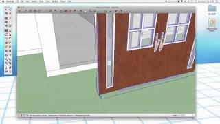 getlinkyoutube.com-Sketchup #26: Advanced Doors & Windows