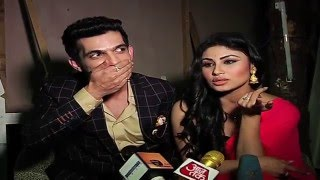 getlinkyoutube.com-Arjun and Mouni aka Ritik and Shivanya's FUN BYTES