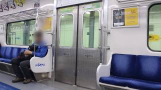 getlinkyoutube.com-[FHD]KORAIL盆唐線 鴨鴎亭ロデオ駅 351000系 2次車ドア開閉