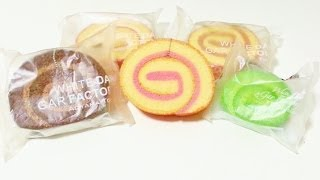 getlinkyoutube.com-♥Tokyo Aoyama Cake Roll Squishy Review♥