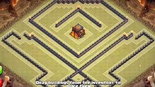 TH10 War Base - Retake On Popular Base (Works Better Than The Original) (275 Walls - Post Update)