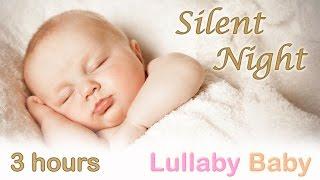 getlinkyoutube.com-☆ 3 HOURS ☆ SILENT NIGHT ♫ PIANO + GUITAR ~ Baby Bedtime Sleeping Music ~ Lullaby Sleep Song