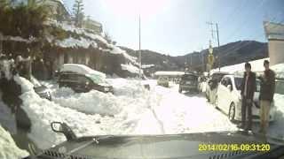 getlinkyoutube.com-[20140214-15大雪]翌日の国道20号・412号/相模湖