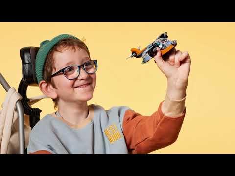 LEGO Creator Vehicles Cyber Drone 31111