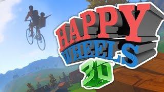 getlinkyoutube.com-HAPPY WHEELS 3D!!! (Guts and Glory Part 1)