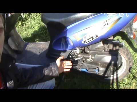 Почему скутер утром плохо заводится?