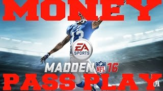 Best Madden 16 Greatest Unstoppable Pass Scheme Play Money Play How To : Deep Bomb Pass
