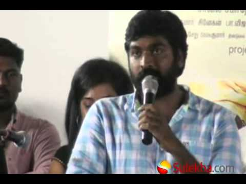 Actor Vijay Sethupathi at Velmurugan Borewell Movie Audio Launch