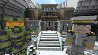 getlinkyoutube.com-Minecraft Xbox - Survival Madness Adventures - Halo Wars [319]