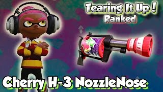 getlinkyoutube.com-Splatoon Multiplayer - Tearing It Up W/ Cherry H-3 NozzleNose (You thought I hated this!?)