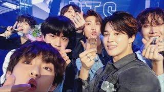 BTS (방탄소년단) 'FAKE LOVE' Self MV @Music Bank Encore Stage