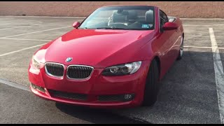 getlinkyoutube.com-WHAT'S IN MY CAR TOUR! My First Car // BMW 335i Hard Top Convertible
