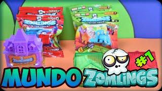getlinkyoutube.com-Zomlings Español | Zomlings Serie 1 y Serie 3 | Mundo Zomlings #1