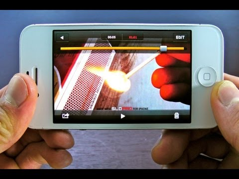 How To Record Slow Motion Video on iPhone 4S/4/3Gs iPod 4G & iPad 3/2 - 1000FPS 500FPS 60FPS SloPro