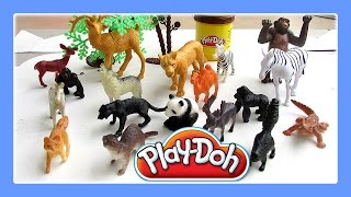 getlinkyoutube.com-Animals For Kids With Play Doh Fun / Animals Song For Children #1 By Jeannetchannel