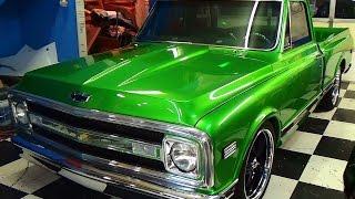 getlinkyoutube.com-70 Chevy C/10 Street Truck Steve Holcomb Pro Auto Custom Interiors