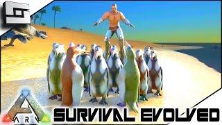 getlinkyoutube.com-ARK: Survival Evolved - PENGUINS VS MOSASAURUS! S2E91 ( Gameplay )