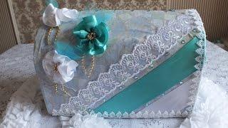 getlinkyoutube.com-Свадебная казна сундучок коробка для поздравлений