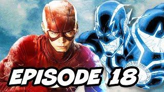 The Flash Season 3 Episode 18 TOP 10 and Comics Easter Eggs