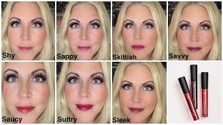 getlinkyoutube.com-How To Pick YOUR Younique Lip Stain Color Combo