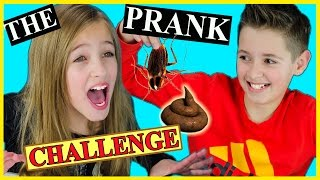 getlinkyoutube.com-THE PRANK CHALLENGE with LIVE ANIMALS! GROSS INSECTS POOP SLIME OOZE ORBEEZ IDEA by PLP TV