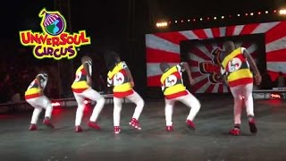 Triplets Ghetto Kids Fire Up Universoul Circus USA (Chicago 2016)