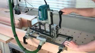 Virutex FC16s Lock Mortiser  Cutting Deep Socket Mortises