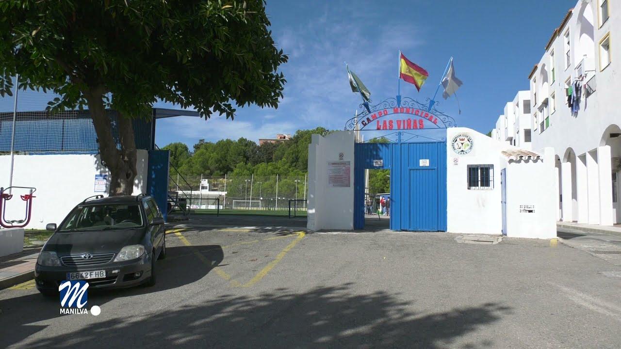 El césped artificial del campo de fútbol será sustituido