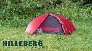 Hilleberg Niak pitching instructions: Additional features and options
