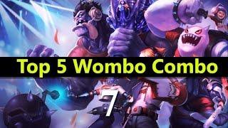 getlinkyoutube.com-Top 5 Wombo Combo League Of Legends #07 | Best League Of Legends Wombo Combo compilation