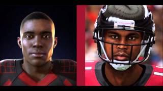 getlinkyoutube.com-Montana 16 Vs. Madden 15 Player Face & Graphics Side By Side Comparison