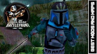 getlinkyoutube.com-Star Wars Battlefront II (PC) HD: Best Mods & Maps: Kuat: Canyon   Death Watch Assault