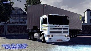 getlinkyoutube.com-Euro Truck Smulator 2 - Scania 113 frontal com acessórios