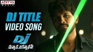 DJ Saranam Bhaje Bhaje Full Video Song | DJ Video Songs | Allu Arjun | Pooja Hegde | DSP width=
