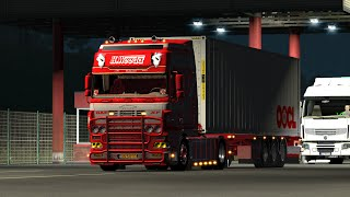 getlinkyoutube.com-Euro Truck Simulator 2 Daf XF open pipe V.9.0