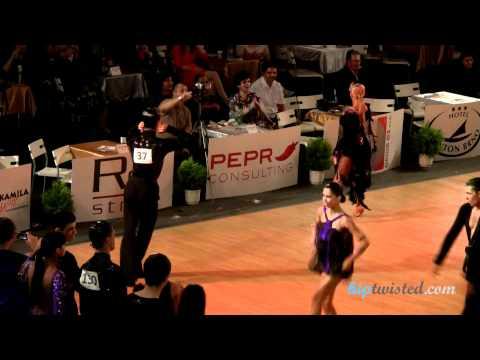 Gabriele Goffredo - Anna Matus, Brno Open 2012, WDSF int open latin, 3. round - jive