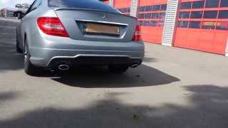 getlinkyoutube.com-Mercedes Benz C250 CDI + Active Sound System (Sound Aktuator)