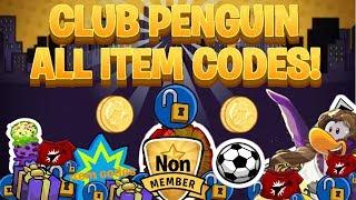 getlinkyoutube.com-Club Penguin : All Unlockable Clothing Item, puffle hat & igloo item Codes! Always works(2016)!