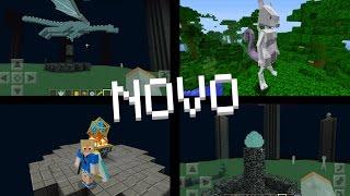✔ SAIU! NOVO DRAGÃO DO AETHER ÉPICO E DIMENSÕES! no Minecraft PE 1.0.5