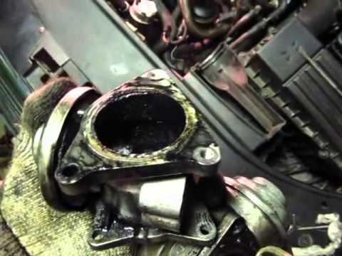 Volkswagen Passat B6 Чистка клапана егр и дроссельной заслонки