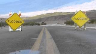 getlinkyoutube.com-Flash Flood Death Valley National Park October 2015