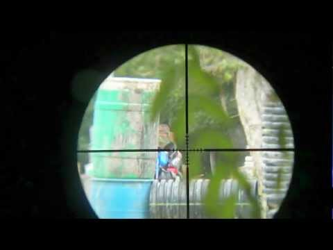 Paintball Scope Cam First Strike Sniping